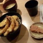 やまみ - 海老天丼(1100円)