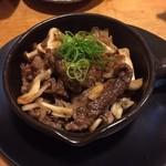 Dai - 牛肉と木ノ子のトリュフ風味焼