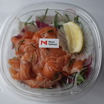 モウイ サーモン ストア - 料理写真:サラダ+サーモン・和風