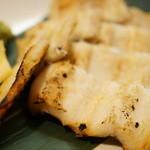蕎楽亭 - 穴子の白焼き