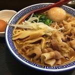 中華そば JAC - JACそば(税込900円)。JACそばは中華そば+味玉+肉増し。