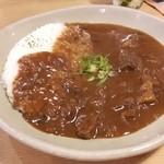 フジヤマプリン - 料理写真:牛すじカレー