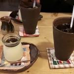 フジヤマプリン - 料理写真:プリン&コーヒー