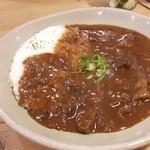 フジヤマプリン - 料理写真:牛すじカレー☆彡