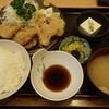 天磯 - 料理写真:豚肉天ぷら定食 830円