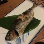あて 煮込 肴 - タカベの塩焼き(850円)