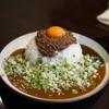 吉田カレー  - 料理写真:大・辛口・キーマ・薬味