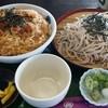 うどん処 浅田屋 - 料理写真:かつ丼ざるそば そば大盛