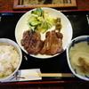 牛たん五徳 - 料理写真:牛タン定食。1200円(税別)。とろろも欲しいところだ。