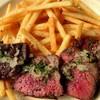 Hula - 料理写真:ブラックアンガス牛ザブトンのステーキフリット