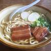 なかむらそば - 料理写真:沖縄そば600円