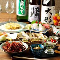 牡蠣料理を宴会コースで堪能!お得なコースは2,500円から