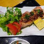 和旬楽 - 若鶏の香味醤油のせ