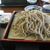 ちぃじがき蕎麦の館 那須庵 - 料理写真:ざるそば(700円)