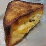 50920490 - 卵と照り焼きチキンのクロックムッシュ