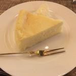 珈琲 文明 - チーズケーキ