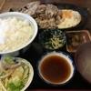 いります食堂 - 料理写真:豚バラ肉ジュージュー焼き定食(税込850円)。タレはおろしステーキタレ。