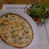 カフェ六月園 - 料理写真:4種のキノコとチキンの十六穀米ドリア(ランチ)