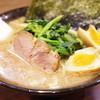麺達うま家 - 料理写真:味玉ラーメン、ほうれん草増し