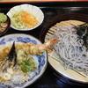 伊之助 - 料理写真:ざるセット(ミニ天丼)