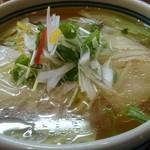 知味笑龍 深澤ラーメン - 料理写真:海老ワンタン麺 塩