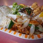 珉家 - 料理写真:酢豚定食