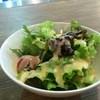 フロッグスニューヨーク - 料理写真:野菜サラダが出ます