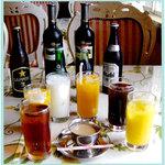 タージマハル - フレッシュジュースからワイン・ビール・カクテルまであります!