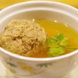 潟潟ヤ - 料理写真:獅子頭の蒸しスープ