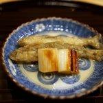 新ばし 笹田 - 稚鮎の南蛮漬け