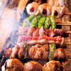 炭火焼鳥 西田屋 - 料理写真:上土佐備長炭で一本一本丁寧に焼き上げます