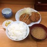 山家 - ひれかつ定食 \950
