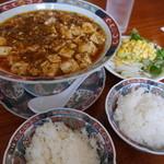 長江 - 陳麻婆豆腐+サラダバー100円(?)