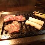 肉じろう - 豚上ハラミ、白ねぎ
