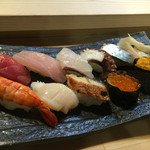 たけやん寿司 - たけやんにぎり