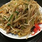江戸東京小岩 創業昭和十一年 餃子の老舗 中華料理 永楽 - かた焼きそば