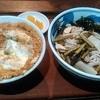 習志野庵 - 料理写真:カツ丼の冷たいお蕎麦のセットです。