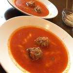 ロシータ - ノビオスセットの本日のスープ