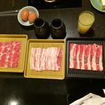 鍋ぞう - 最初の肉