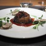 スリオラ - 国産牛ほほ肉のシェリー酒煮込み 甘酸っぱいソースとサマートリュフ