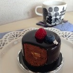 デコラシオン - 料理写真:チョコレートのムース