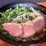 800円ラーメン店 天歩 - 鴨肉ラーメン