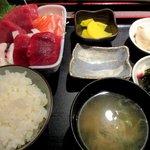 もてなしや - お刺身定食!(2016,05/05)