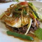 ラ・ブラスリー - 真鯛のポアレ オマールソース