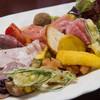 益田食堂 - 料理写真:前菜の盛り合わせ(税別1,200円)