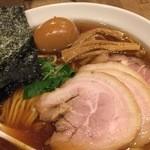 新橋 纏 - 特製平子煮干そば・2016/4