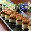 さくら鮨 - 料理写真:穴子の押し寿司