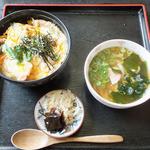 麺屋 喜幸 - 地鶏親子丼セット(930円)
