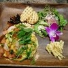 モクオラ ディキシーダイナー - 料理写真:エビとアボカドのオムレツコンボ