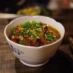 韓国家庭料理 青山 - 牛スジ煮